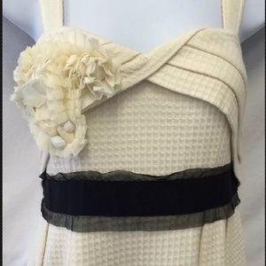 Anthropologie Dresses - Anthropologie Deletta waffle knit corsage dress